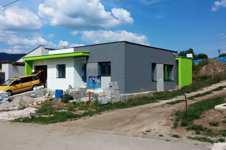 """""""Pasívny"""" rodinný dom Konská, okr. Žilina"""